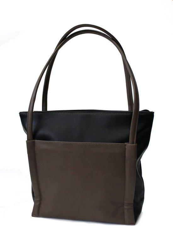 71121 черный с коричневым